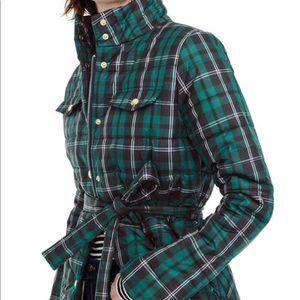 J Crew NWT plaid puffer season 2018 coat
